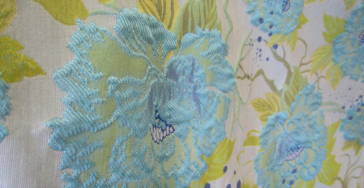 Floral Brocade Fabric