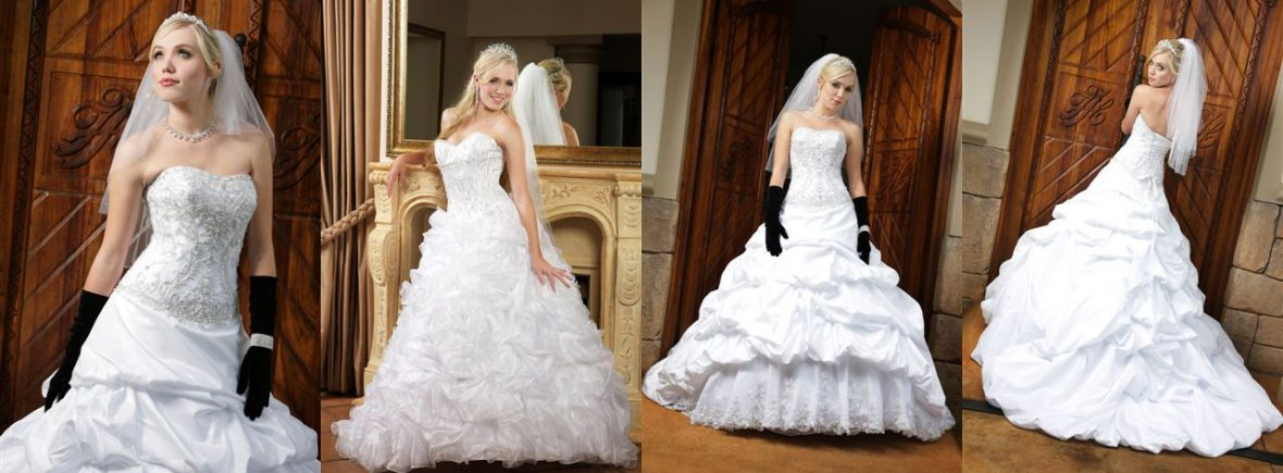 Wedding Dress Collage